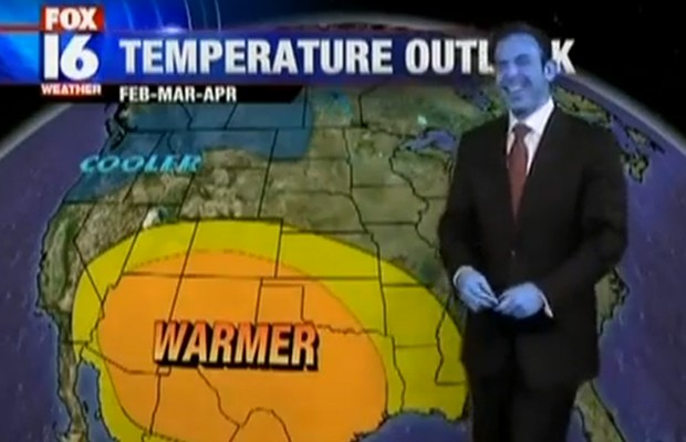 Smurf Weatherman