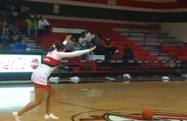 The Most Incredible Half Court Shot
