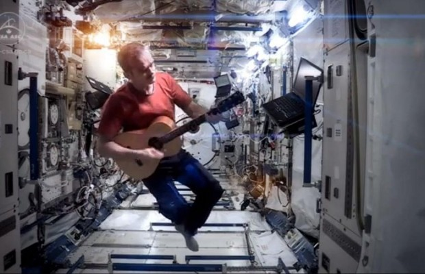 "Amazing ""Space Oddity"" Cover From International Space Station"