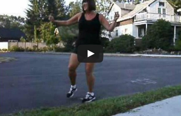 "Mom Dances ""Bye, Bye, Bye"" To Kids As They Go Back to School"