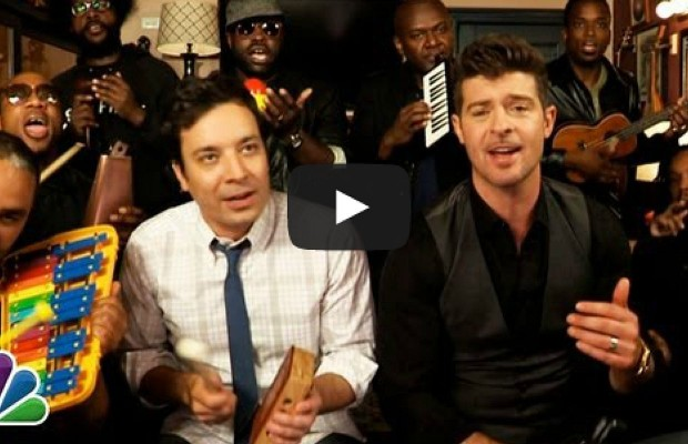 Jimmy Fallon's Blurred Lines