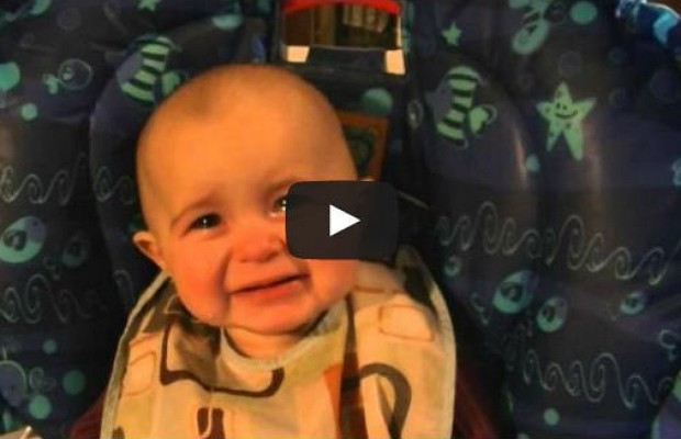 Mom's Singing Moves Baby to Tears
