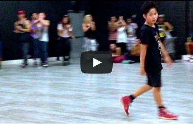 11 Year Old's Amazing Dance To Lady Gaga