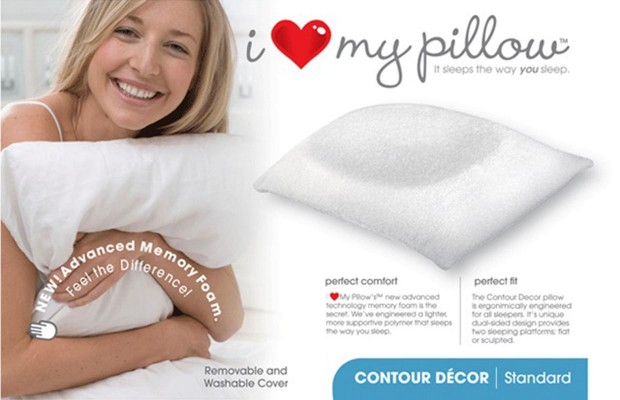 I Love My Pillow – SOLD