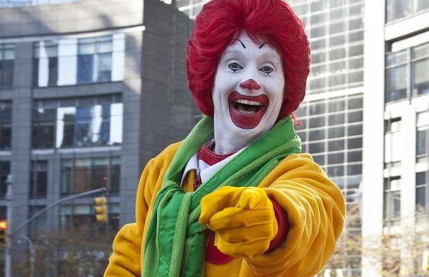 This Photo Of The Original Ronald McDonald Is The Stuff of Nightmares