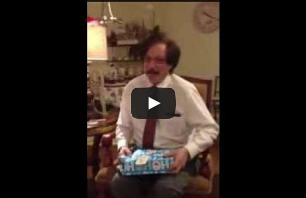 "Grown Man Reacts With Childlike Glee To ""Ultimate Christmas Gift"""