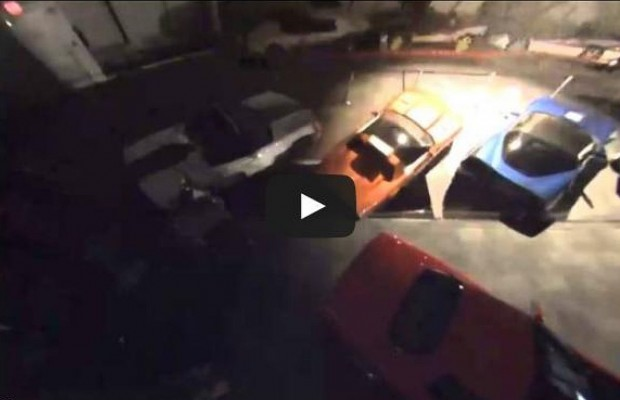 Watch The Corvette Museum Sink Hole As It Happened