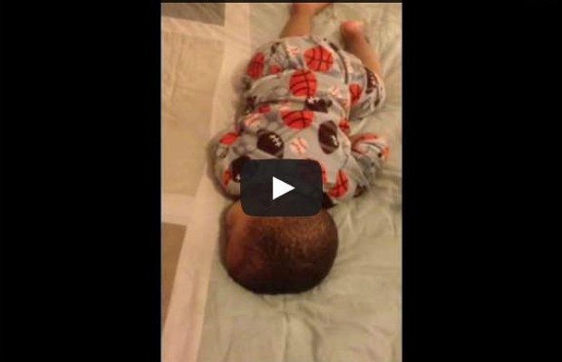 Baby Wakes Up To Bruno Mars