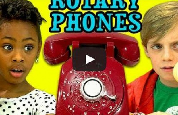 Kids React To A Rotary Phone