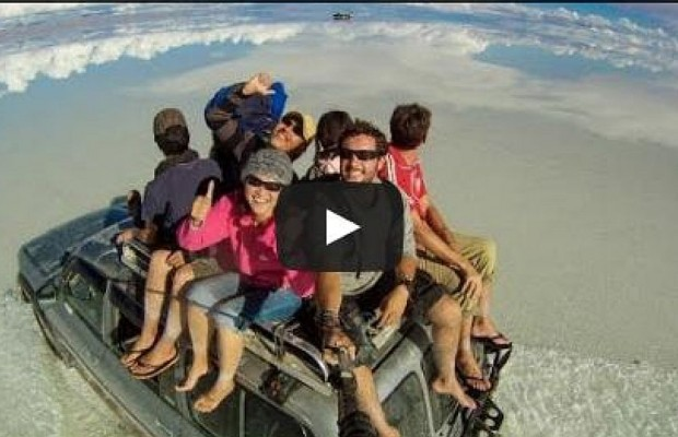 Epic Around The World Selfie