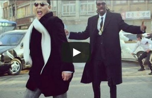 "PSY And Snoop Dogg in ""Hangover"""