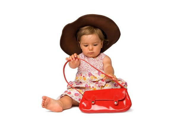 A One Year Old With A $1,450 Purse